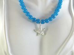 Little girls starfish necklace by jewelryandmorebykat on Etsy