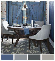 Ambiente fresco gracias a ésta paleta de colores y elementos en general.