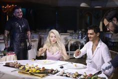 Evenimentul anului 2019 - Botez & Nuntă, Clara, Andreea Bălan și George - a avut și o reprezentare culinară pe măsură. Iată cum arată o incursiune gastronomică în Paradisul Castelului din Inima Capitalei, realizată de Executive Chef, Iulian Olaru și echipa sa. Georgia, Concert, Coat, Artist, Sewing Coat, Artists, Concerts, Peacoats, Coats