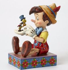 Disney Pinocchio And Jiminy Cricket