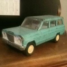 Vintage Tonka Jeep Tonka Trucks, Tonka Toys, Antique Toys, Vintage Toys, Old Toys, Ea, Diecast, Tractors, Nostalgia