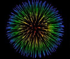 animated, fireworks, and gif image