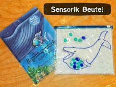 Sensorik Beutel  / Regenbogenfisch  / Kreativer Kinderkram  - YouTube