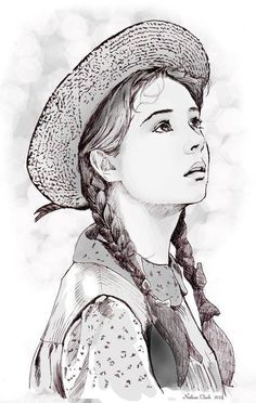 ❤️Anne of Green Gables ~ Fan art by Nathan Clark Anne Shirley, Anne Auf Green Gables, Anne Of Avonlea, Megan Follows, Bon Film, Anne With An E, Fangirl, Look Man, Marc Chagall