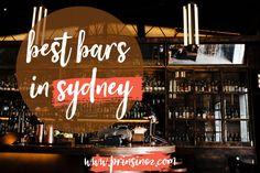 Best Bars in Sydney – Prins in Oz