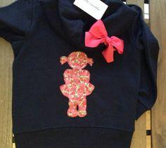 Sweater girl  ~  Sudadera niña  ~  https://m.facebook.com/little.candela.7. ~  Little Candela