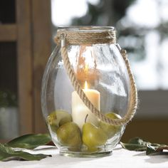 The Clear Glass Lantern is so simple that it can be used in virtually any room with any style. Use it as a vase or light a candle for a majestic feel. Enjoy it now through 2/15 for only $15!