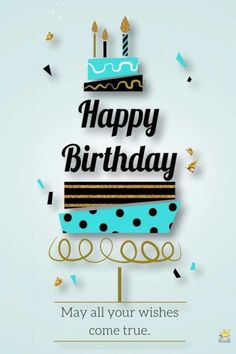 may all your wishes come true happy birthday quotes pinterest