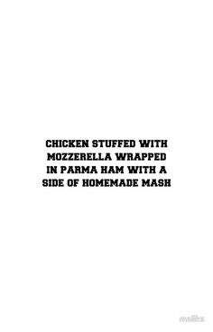 'chicken stuffed with mozzarella wrapped in parma ham with a side of homemade mash' iPhone Case by maliks One Direction Harry, One Direction Fotos, One Direction Humor, One Direction Memes, Imprimibles One Direction, Louis Tomlinson Quotes, Desenho Harry Styles, Foto One, 1d Quotes
