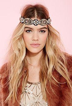 Rhinestone Embellished Headband | FOREVER 21 - 1055878533
