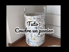 [ Tutoriel N°14 ] DIY - Coudre un grand panier à jouets - YouTube Coin Couture, Baby Couture, India Pattern, Toy Basket, Diy Baby Gifts, Sewing Accessories, Diy Makeup, Diy Toys, Sewing Techniques