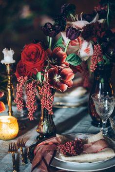 A Gothic Wedding - www.ebyhomestead.com