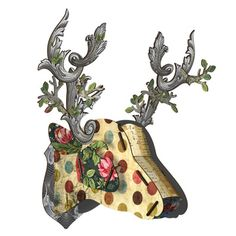 Miho Big Deer Parade Stag Head Wall Trophy © Copyright Image