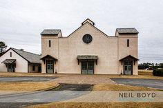 Fair Barn in Pinehurst, NC.  Historic early 1900's barn for wedding receptions.  Neil Boyd Photography.