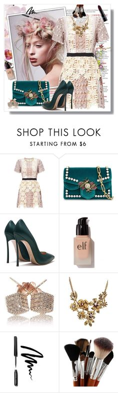 """Untitled #1430"" by www-gufi on Polyvore featuring Gucci, e.l.f., WithChic and Bobbi Brown Cosmetics"