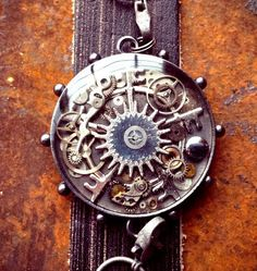 The Steampunk Eye Bracelet by ColdGarageCreations on Etsy