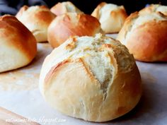 Bread Rolls, Bread Recipes, Sandwiches, Bakery, Good Food, Brunch, Easy Meals, Food And Drink, Brownies