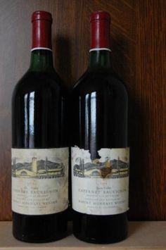 Oude topwijn: Robert Mondavi Cabernet Sauvignon reserve 1974 - Wijnen - wijdewijnwereld