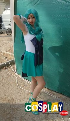 Sailor Neptune Cosplay from Sailor Moon in RIMINI COMIX 2012 Italy