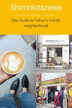 A day guide to Tokyo& hip neighborhood. Where to eat, to thrift shop and where to get the perfect cup of coffee at one of their trendy cafes. Tokyo Guide, Tokyo Travel Guide, Japan Travel Guide, Asia Travel, Tokyo Japan Travel, Travel List, Travel Goals, Japan Beach, Places In Tokyo