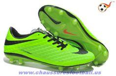 Nike Hypervenom Phantom FG Vert Noir FT4297