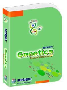 Netripples Genetics Research Hospital Software is a comprehensive ready to use software designed to manage and automate the operations of Genetics Research Hospital Plus which includes Registration of Inpatient/Outpatient, Investigation Management, Cashier management...Read More.... https://www.netripples.com/GeneticsResearchHospitalPlus_ReadMore.aspx