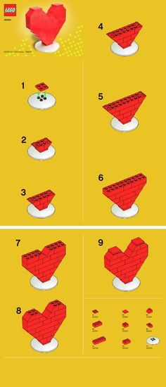 Valentine's LEGO Craft from Smarty Buddy Apps and Books