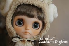 hanako * Custom Blythe * sheep *  Buy her here:   #‎blythe #‎blythedolls #‎kawaii #‎cute #‎rinkya #‎japan #‎collectibles #‎neoblythe #‎customblythe