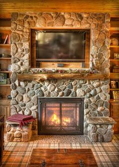 The perfect fireplace.