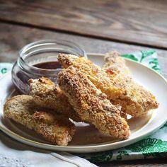 Oven Baked Buttermilk Chicken Fingers