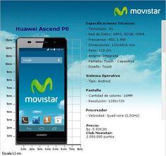 #Android Movistar Venezuela deja ver en su web el Huawei P6. @HuaweiDeviceVE - http://droidnews.org/?p=3490