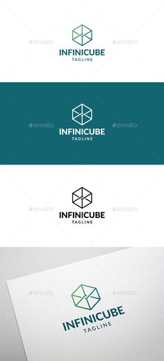 Infinity Cube Logo Template Vector EPS, AI Illustrator. Download here: https://graphicriver.net/item/infinity-cube-logo-template/17448101?ref=ksioks
