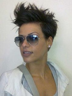 Spiked Cool Pixie Cuts
