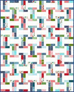 Interlock - Free Quilt Pattern - Jelly Roll