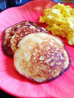 Paleo Pancake Recipe. Add a bit of oil