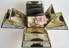 Butterfly Garden Explosion Box - How Gorgeous!!! I want to make one right now!
