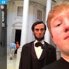 Lincoln photobomb! #Lincoln #photography