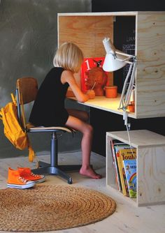 How To Make A Desk Nook Using Plywood | DIY Projects For Men #diyready www.diyready.com