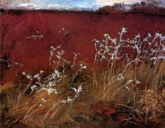 Thistles, 1884 by John Singer Sargent. Realism. landscape. Private Collection