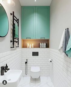 home decor christmas Small Toilet Design, Small Toilet Room, Bathroom Design Luxury, Bathroom Design Small, Downstairs Bathroom, Bathroom Layout, Wc Design, Powder Room Design, Bathroom Inspiration