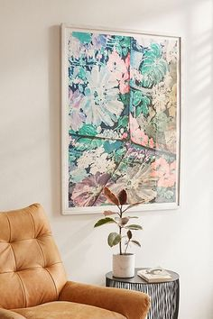 b872668b713 Shop Kimberley Dhollander Green Paradise Art Print at Urban Outfitters  today. We carry all the latest styles