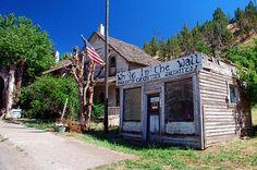 Mitchell Buildings Wheeler County, Oregon