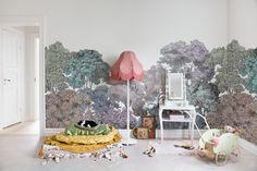 Behang Kinderkamer Regenboog : 130 beste afbeeldingen van behang & verf interieur baby rooms