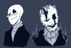 Before and after W.D. Gaster by redmiel