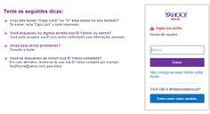 Disso Voce Sabia?: Ameaça hacker: Yahoo pede que usuários troquem a senha do Yahoo Mail imediatamente Thiago Barros