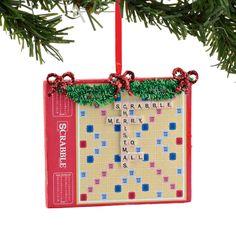 Scrabble Game Ornament
