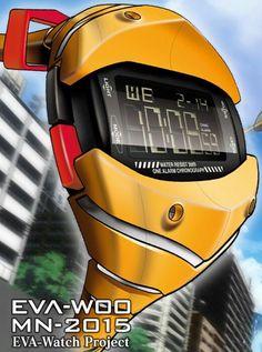 ヱヴァンゲリヲン新劇場版オリジナルデザイン・ウォッチ『EVA-W00』