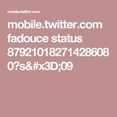 mobile.twitter.com fadouce status 879210182714286080?s=09