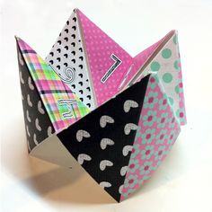 The Lilypad :: Templates :: Make A Cootie Catcher Template