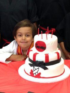 Black Belt cake